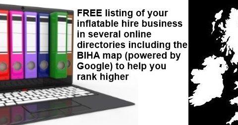 Bouncy castle hire directory