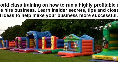 bouncy castle training
