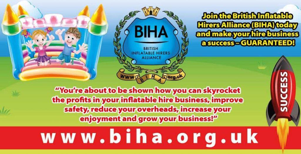 bouncy castle hire business