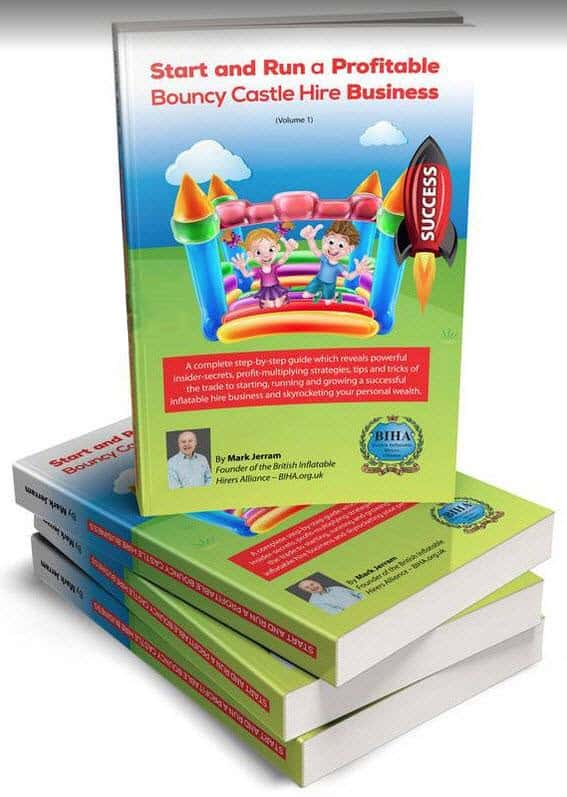 bouncy castle hire book